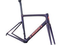 SWORKS Tarmac Frameset 44 Gloss Chameleon Flake/Satin Acid Red/Clean  click to zoom image