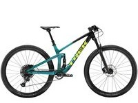 TREK Top Fuel 9.7 S Trek Black to Teal Fade  click to zoom image