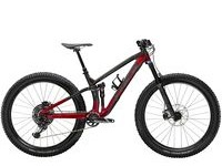 TREK Fuel EX 9.8 XS Raw Carbon / Red  click to zoom image