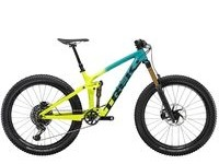 TREK Remedy 9.9 S Teal to Volt Fade  click to zoom image