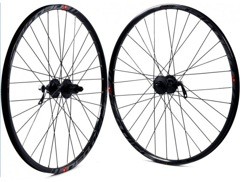 WILKINSON WHEELS Mach 1 Rim on Deore Disc Hub Rear click to zoom image