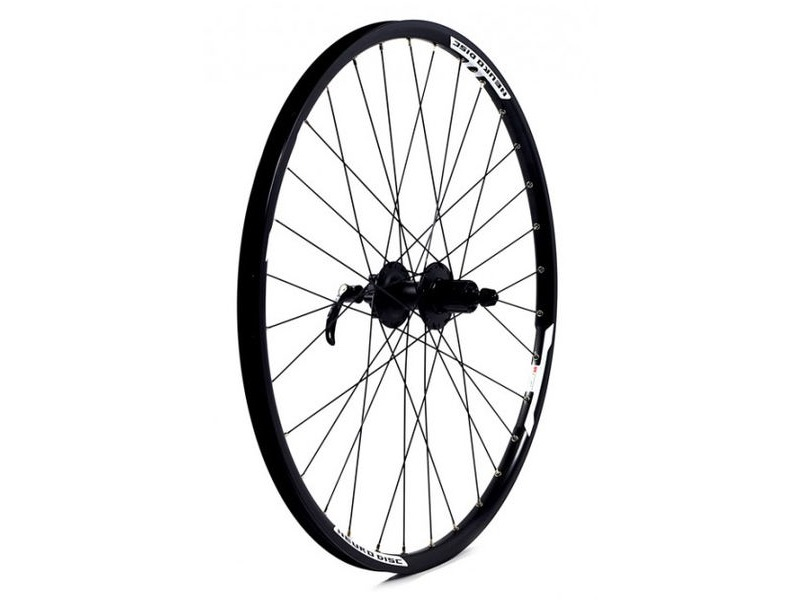 WILKINSON WHEELS Doublewall Rim on Quando Cassette Disc Q/R Hub Rear click to zoom image