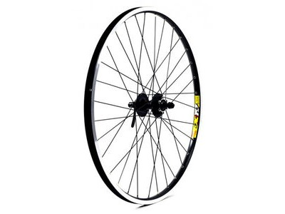 WILKINSON WHEELS Doublewall Rim on Quando Cassette Disc Q/R Hub Front