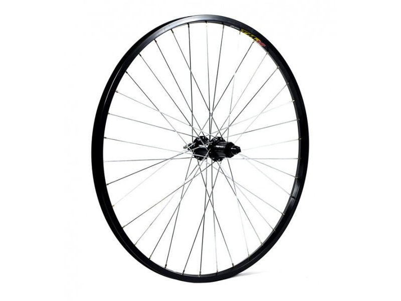 "WILKINSON WHEELS 26"" Doublewall Rim on Quando Q/R Hub - Cassette click to zoom image"