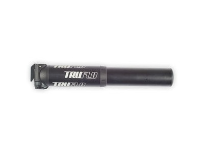 TRUFLO MiniMTN high volume pump with flexi head, presta & Schrader, black