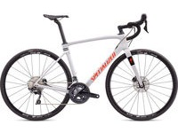SPECIALIZED Roubaix Comp 44 Gloss Dove Gray/Crimson-Rocket Red  click to zoom image