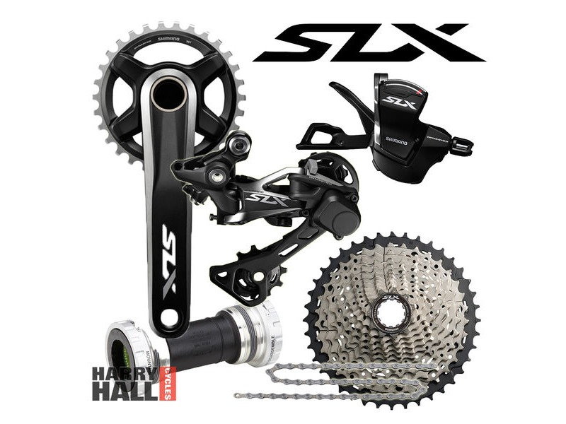 SHIMANO SLX Drive train 1x11 click to zoom image