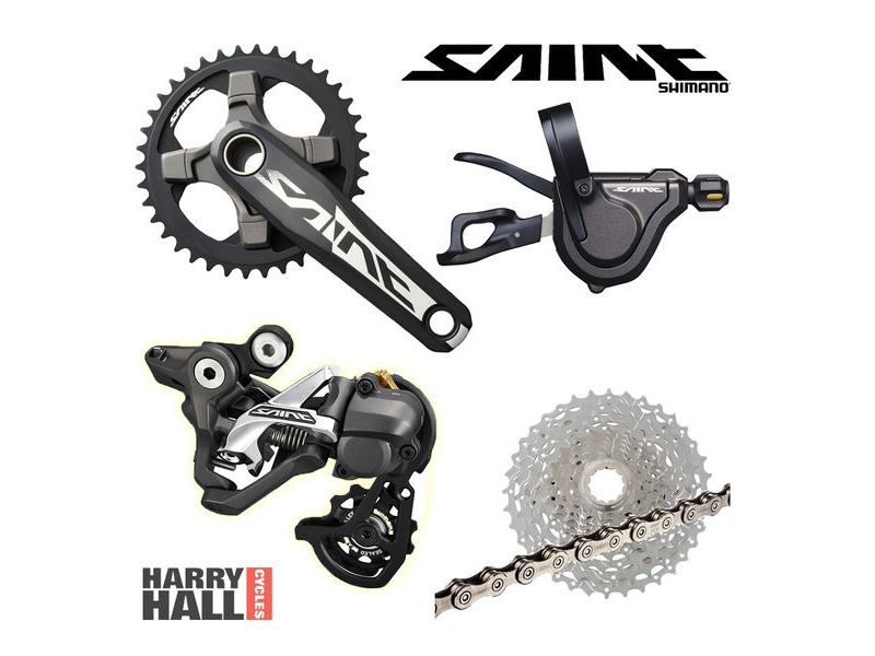 SHIMANO Saint Drive Train 1x10 click to zoom image