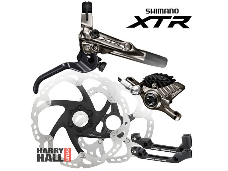 SHIMANO XTR Trail Disc Brake Set click to zoom image