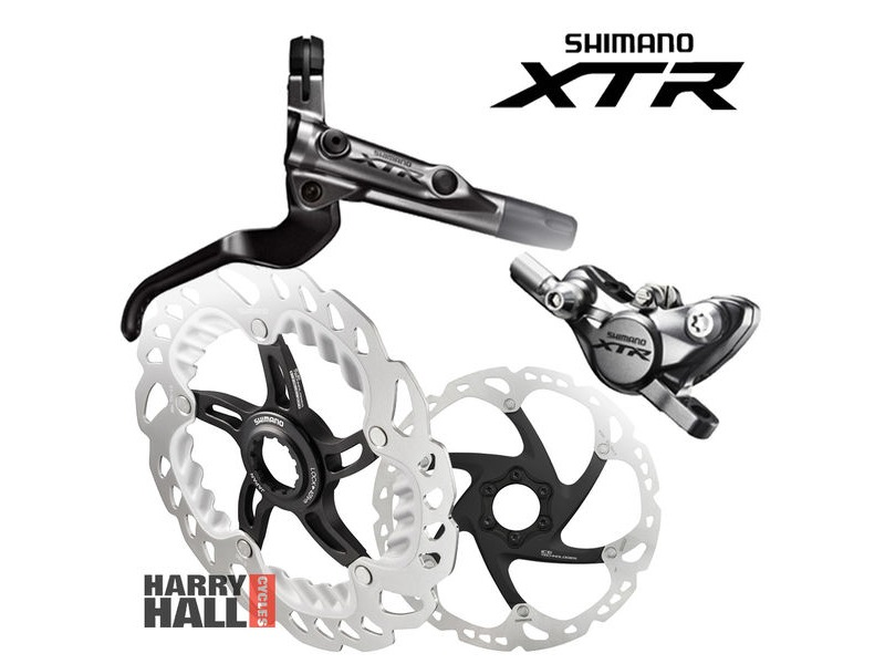 SHIMANO XTR Race Disc Brake Set click to zoom image