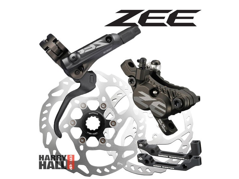SHIMANO Zee Disc Brake Set click to zoom image