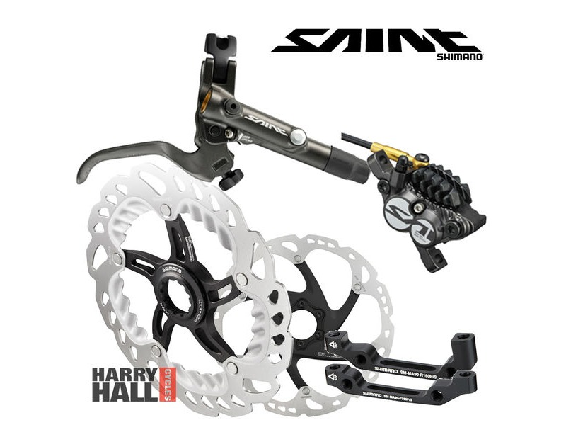 SHIMANO Saint Disc Brake Set click to zoom image