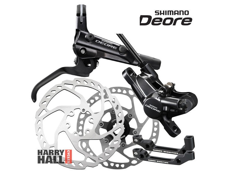 SHIMANO Deore Disc Brake Set click to zoom image