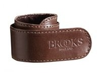 BROOKS Trouser Straps  Brown  click to zoom image