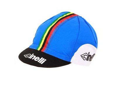 CINELLI Bassano 85 Blue Cotton Cap