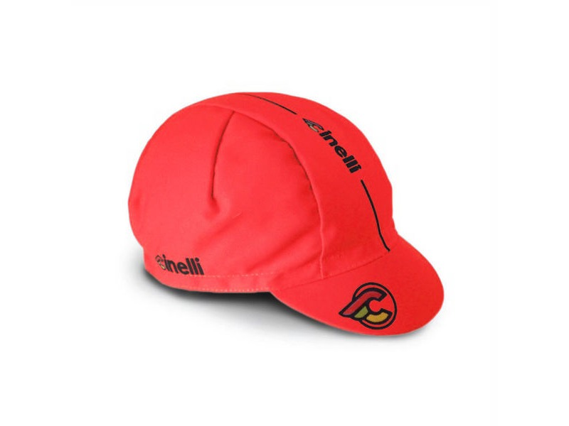 CINELLI Supercorsa Red Cotton Cap click to zoom image
