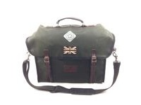 CARRADICE City Folder M Union Jack  Green  click to zoom image
