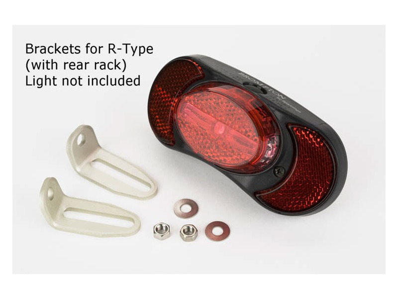 BROMPTON Rear Light Bracket R Type click to zoom image