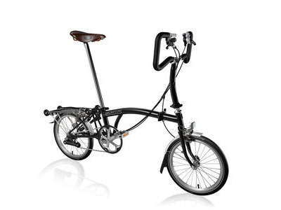 BROMPTON P6-R +Marathons and Brooks Saddle