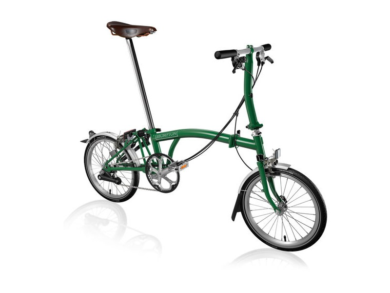 BROMPTON S6-L +Brooks Saddle click to zoom image