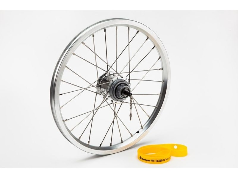 BROMPTON Rear Wheel 6 Speed click to zoom image