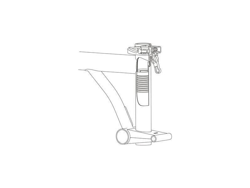 BROMPTON Saddle Height Insert click to zoom image