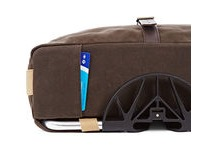 BROMPTON Roll Top Bag Waxed click to zoom image