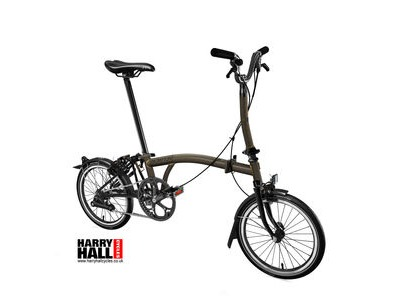 BROMPTON M6-L Black Edition Raw Laquer