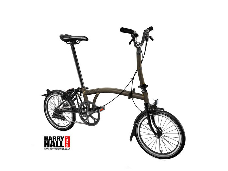 BROMPTON M6-L Black Edition Raw Laquer click to zoom image