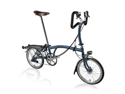 BROMPTON P6-R +Marathons, Hub Dyno  and Brooks Saddle